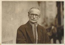 Portrait de Jean Boucher réalisé en extérieur