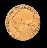 Médaille souvenir de la nomination de Jean Boucher à l'Académie des Beaux-Arts