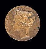 Médaille obtenue en récompense par Jean Boucher