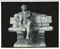 Maquette de sculpture de Villiers de L'Isle Adam