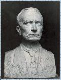Buste en plâtre de Jean Boucher