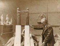 Jean Boucher dans son atelier