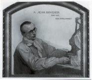 Portrait de Jean BOUCHER réalisé par son ami O.D.U. GUILLONNET