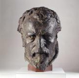 Tête d'Anatole Le Braz (Duault,1859-Menton,1926)