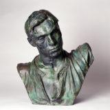 Buste en hermès du forgeron, monument Ludovic Trarieux