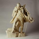 Réduction en plâtre du Victor Hugo érigé à Guernesey