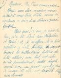 Discours de Jean Boucher pour l'Amicale d'aide aux artistes