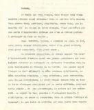 Discours de Paul Landowski sculpteur adressé tout particulièrement à Madame Boucher lors du décès de Jean Boucher