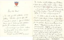 Lettre de Monsieur Charpentier, avant la nomination de Jean Boucher à l'Académie française