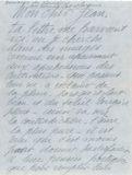 Lettre de Lemaresquier adressée à Jean Boucher